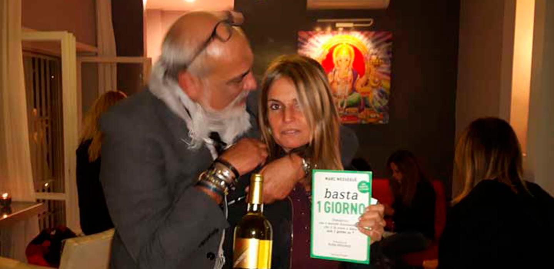 Presentazione del nuovo libro di Marc Messeguèe