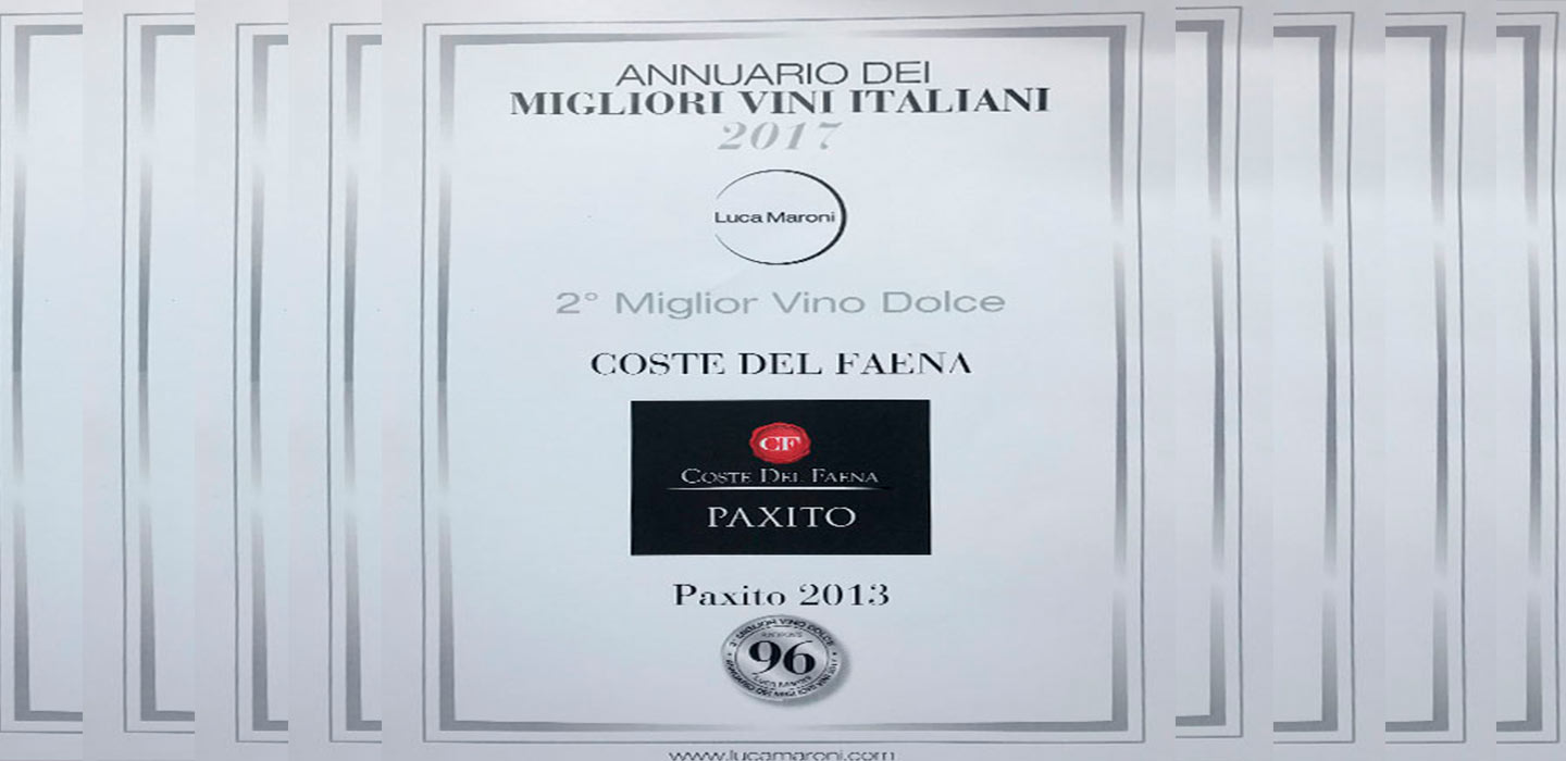 2° Classificato – Paxito 2013