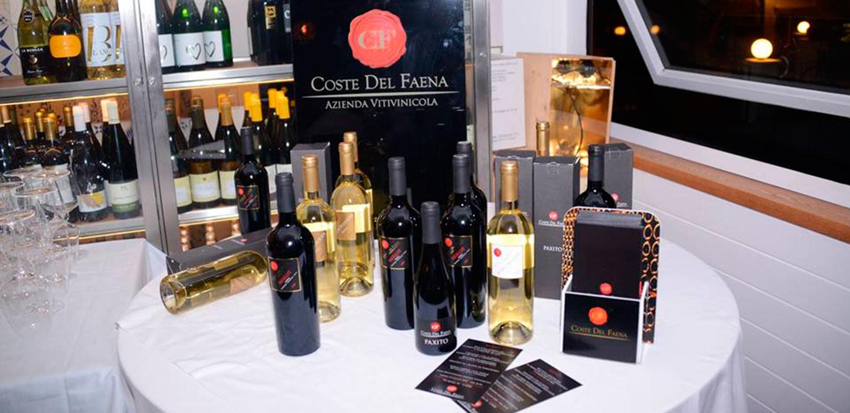 I vini umbri di Coste del Faena sbarcano a Capri