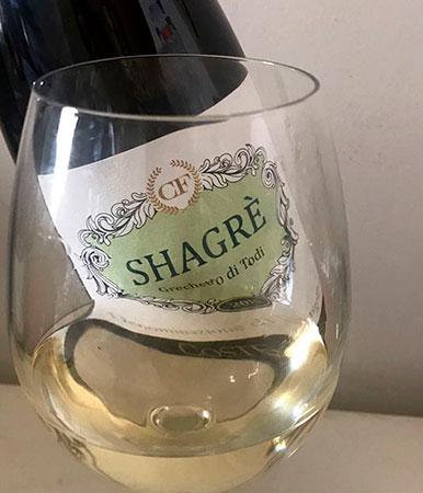 Vino shagrè - Grechetto di Todi