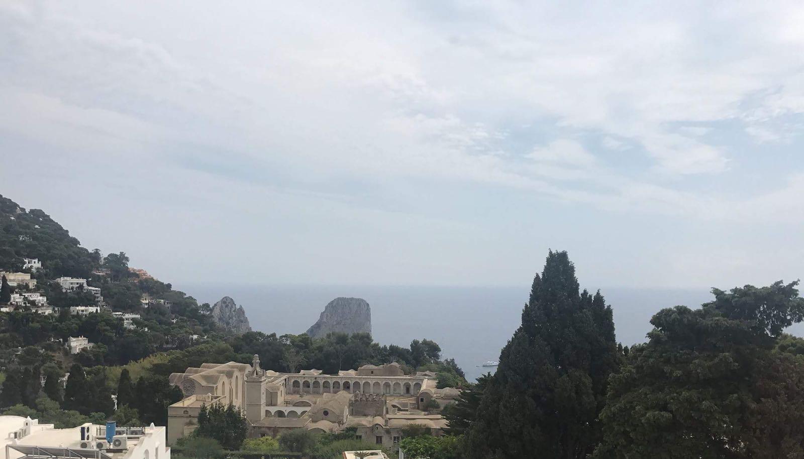 Esclusiva Degustazione Coste del Faena presso Al Caprì Don Alfonso Cafè di Capri.
