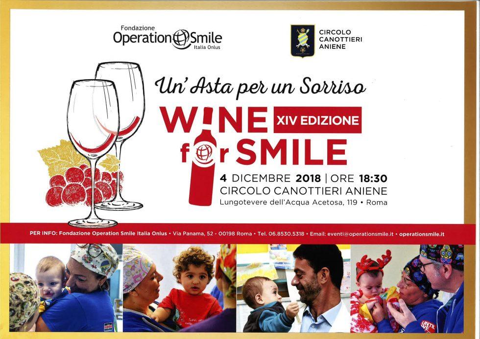 Wine for Smile – Un'asta per il sorriso