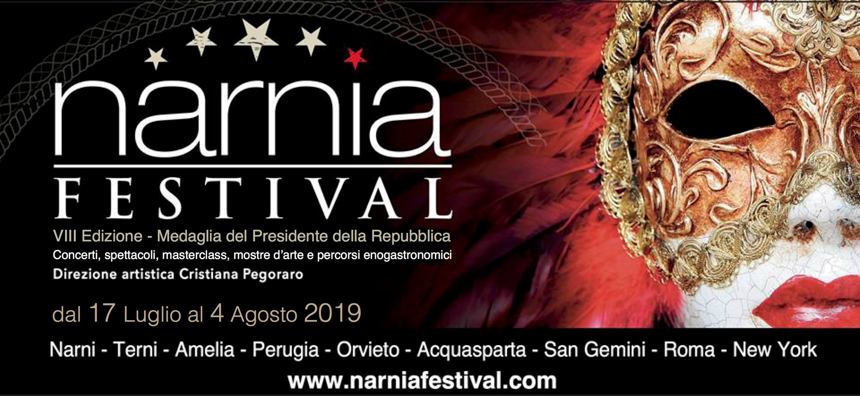 Serata di Inaugurazione del Narnia Festival